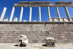 Temple of Trajan, Bergama, Izmir Stock Photography