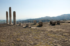 Temple of Trajan at Pergamos Royalty Free Stock Image