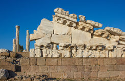 Temple of Trajan 1 Stock Photo
