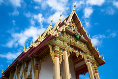 Temple, Trat, Thailand Stock Image