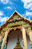 Temple, Trat, Thailand royalty free stock photos