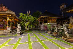 Temple in Ubud - Bali Island Indonesia Stock Image