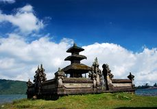 Temple of Ulun Danu Stock Photo