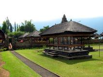 Temple in Ulun Danu, Bali indonesia Stock Photo