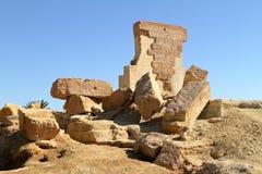 The Temple of Umm Ubayda in Egypt Stock Image