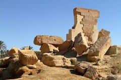 The Temple of Umm Ubayda in Egypt Stock Photos