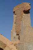 The Temple of Umm Ubayda in Egypt Stock Images