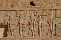 The Temple of Umm Ubayda in Egypt Royalty Free Stock Images