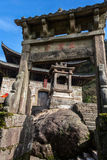 Temple under blue sky Royalty Free Stock Photography