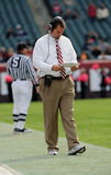 Temple University football coach Al Golden Royalty Free Stock Photo