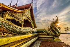 Temple Unseen Thailand Royalty Free Stock Photo