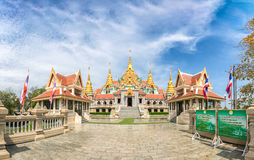 The temple is up in the mountain, just next to the sea. It `s ca royalty free stock image