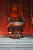 Temple Urn Stock Photo