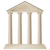 Temple (vecteur) illustration libre de droits