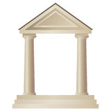 Temple (vector) Stock Images
