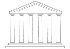 Temple (vector) Stock Photo