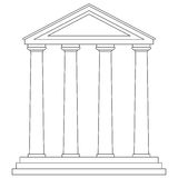 Temple (vector) Stock Image