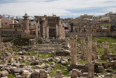 Temple of Venus, Baalbek, Lebanon Stock Photos