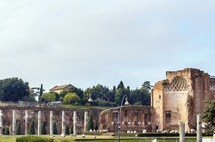Temple of Venus and Roma, Rome Stock Images