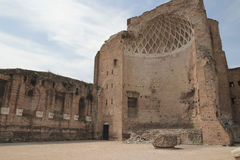 Temple of Venus and Roma Royalty Free Stock Photo
