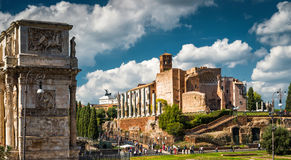 Temple of Venus at the Roman Forum, Rome Stock Photography