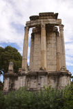 Temple of Vesta royalty free stock images