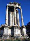 Temple of Vesta Stock Photography