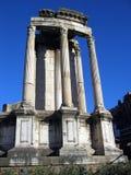 Temple of Vesta. In the Roman Forum Stock Photography