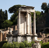 The temple of Vesta Royalty Free Stock Image