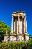 Temple of Vesta in the Roman Forum, Italy Royalty Free Stock Image