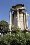 Temple of Vesta in Roman Forum Royalty Free Stock Photography