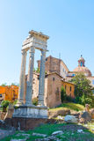 Temple of Vesta in Rome, Italy Royalty Free Stock Image
