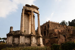 The Temple of Vesta Royalty Free Stock Photos