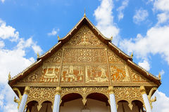 Temple in Vientiane Royalty Free Stock Image