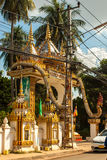 Temple In Vientiane, Laos Stock Photography