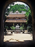 Temple, Vietnam royalty free stock photography