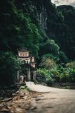 Temple in vietnam royalty free stock photography