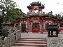 Temple vietnamien en Hoi An - le Vietnam photo stock