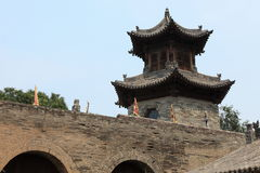 The Temple Village of Zhangbi Cun Stock Photography