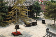 The Temple Village of Zhangbi Cun Royalty Free Stock Image