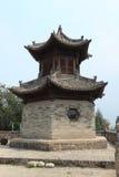The Temple Village of Zhangbi Cun Royalty Free Stock Photos