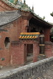 The Temple Village of Zhangbi Cun Royalty Free Stock Photos