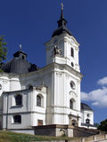 Temple of the Virgin Mary in the town of Krtiny. Stock Image