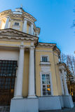 The Temple of the Vladimir Icon of the Mother of God in the estate Vinogradovo. Stock Image