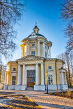 The Temple of the Vladimir Icon of the Mother of God in the estate Vinogradovo. Stock Photography