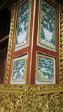 Temple wall decoration Royalty Free Stock Photo