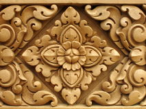 Temple wall pattern Stock Photo