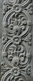 Temple walls. The Indian temple walls detail Royalty Free Stock Photo