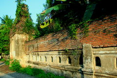 Temple walls royalty free stock photography