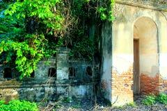 Temple walls royalty free stock photo